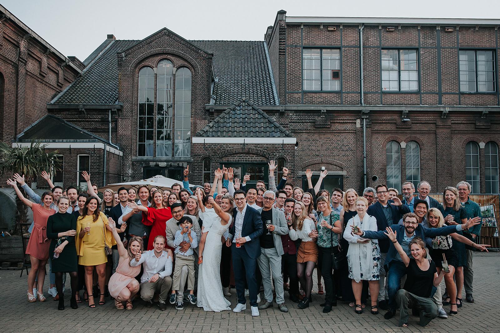 Trouwen bij de Westerliefde in Amsterdam