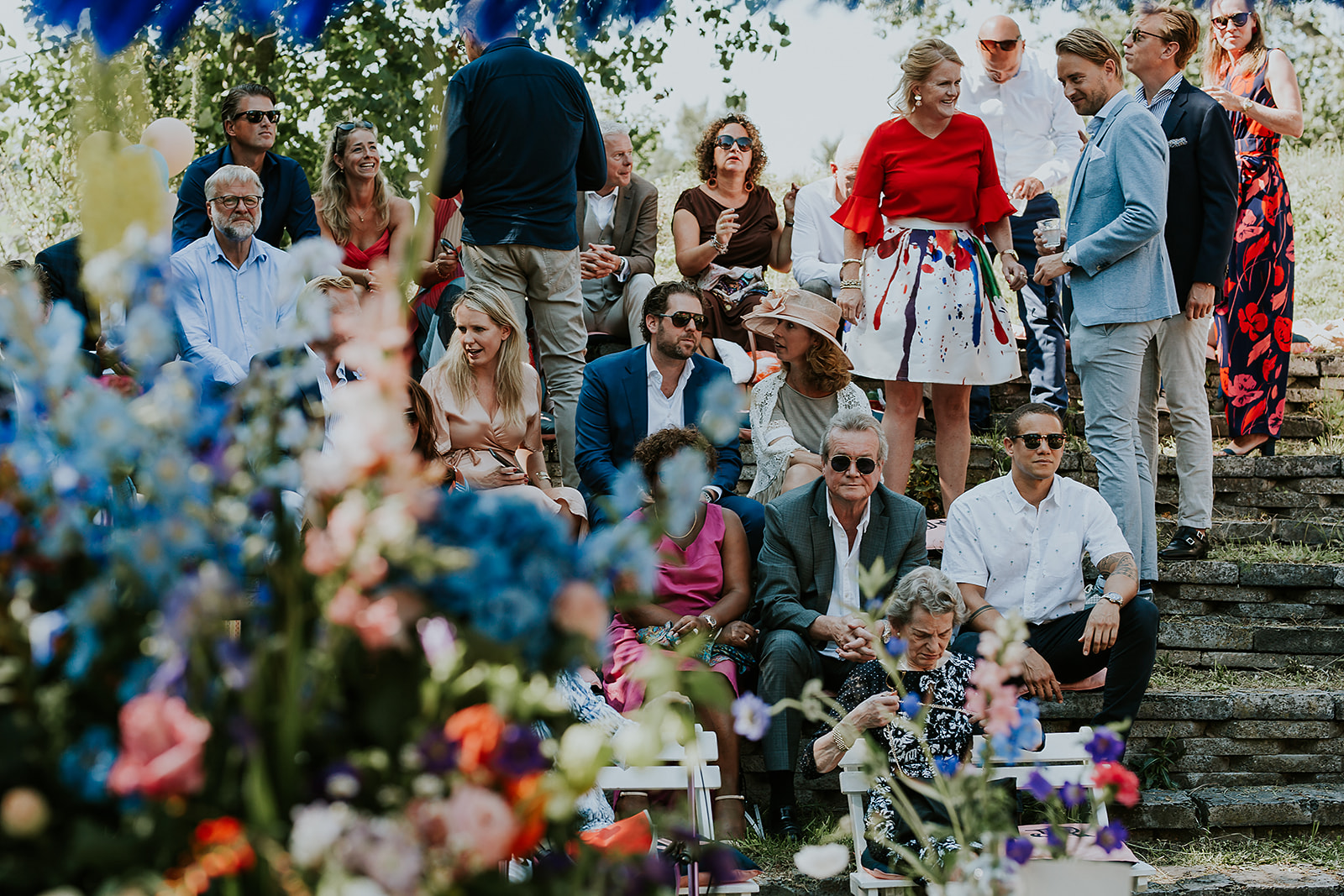 Sprookjeshuwelijk bij het Rijk van de Keizer in Amsterdam