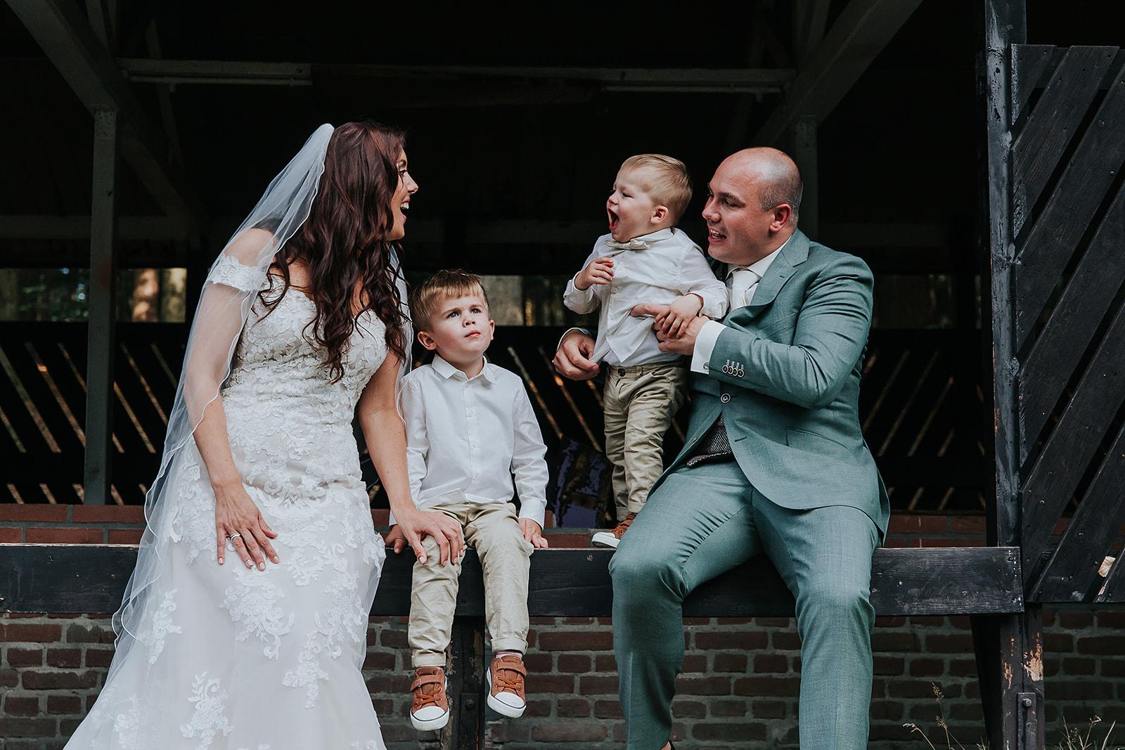 Wat is het beste moment voor het maken van de trouwfoto's?