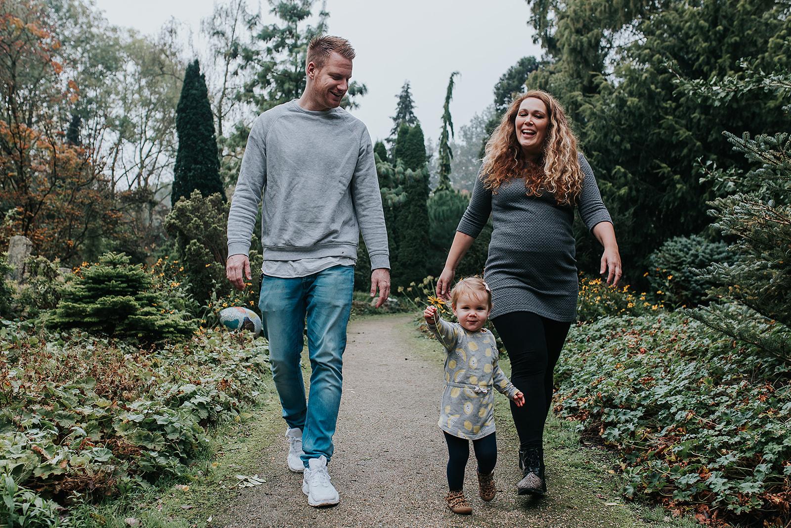 Gezins- & Zwangerschapsshoot in 1