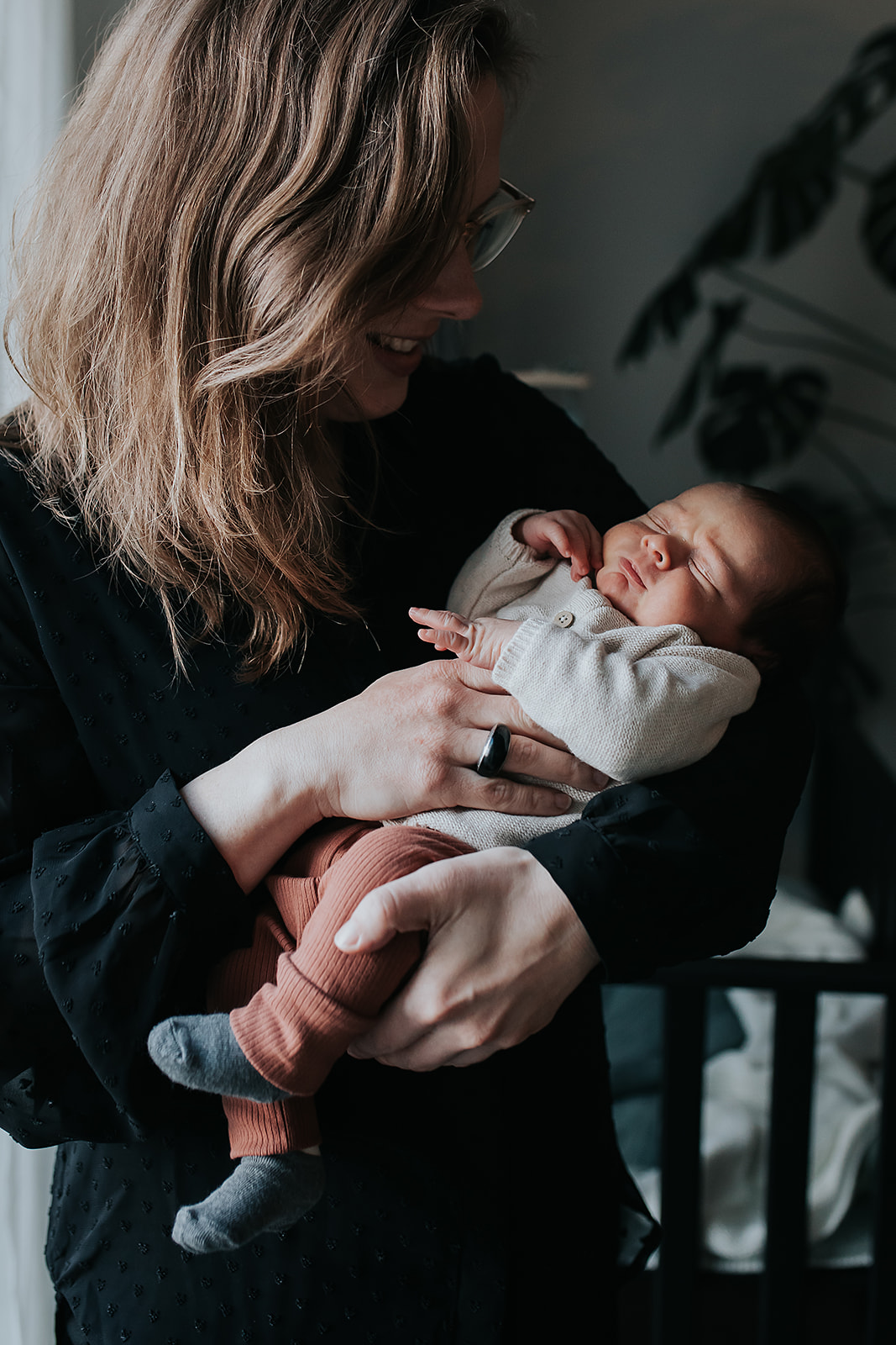 Happy newbornfamily